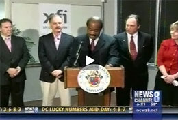 XFI Corporation and Montgomery County Department of Economic Development press conference